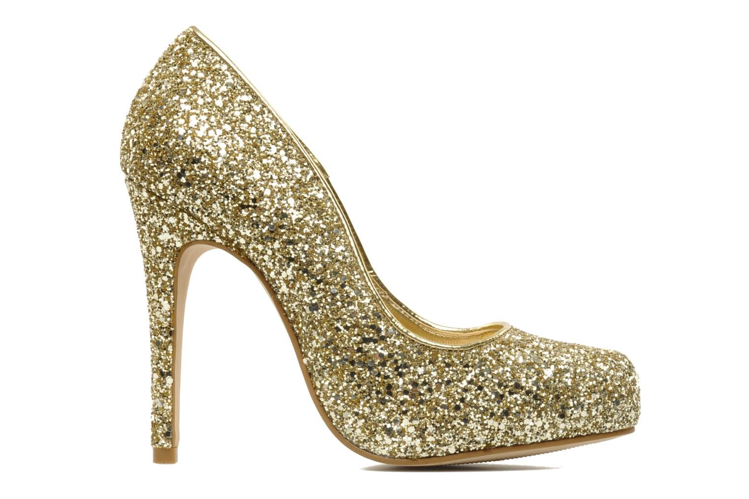 High heels Carvela ANTIBES Bronze and Gold back view