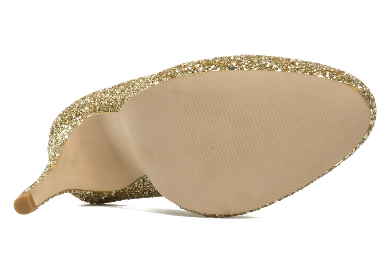 Zapatos de tacón Carvela ANTIBES Oro y bronce vista de arriba