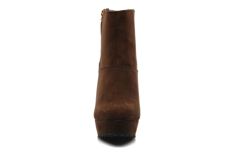Boots en enkellaarsjes I Love Shoes Napoli Bruin model
