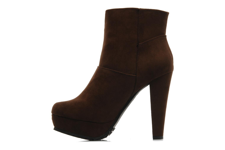 Boots en enkellaarsjes I Love Shoes Napoli Bruin voorkant