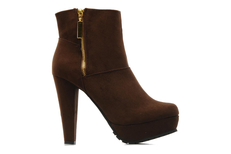 Boots en enkellaarsjes I Love Shoes Napoli Bruin achterkant