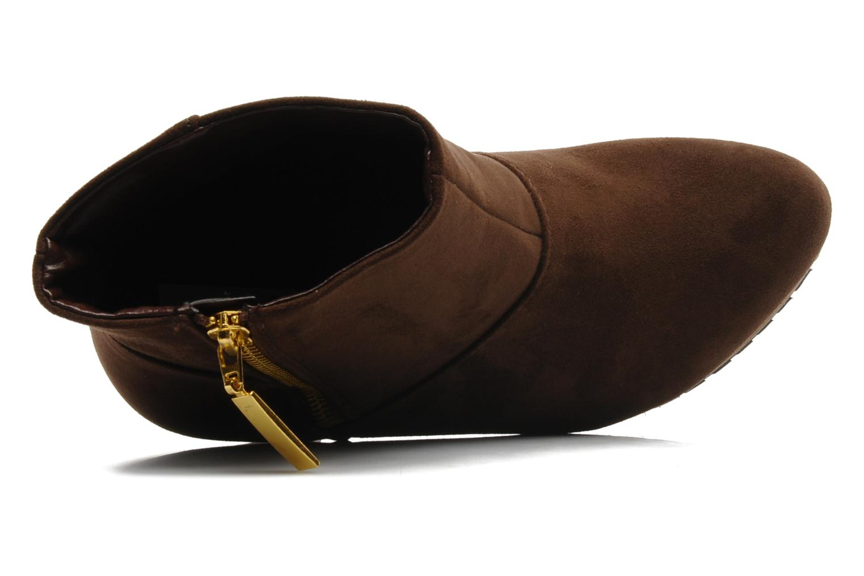 Boots en enkellaarsjes I Love Shoes Napoli Bruin links