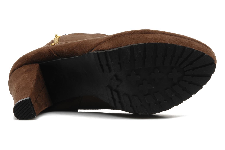 Boots en enkellaarsjes I Love Shoes Napoli Bruin boven