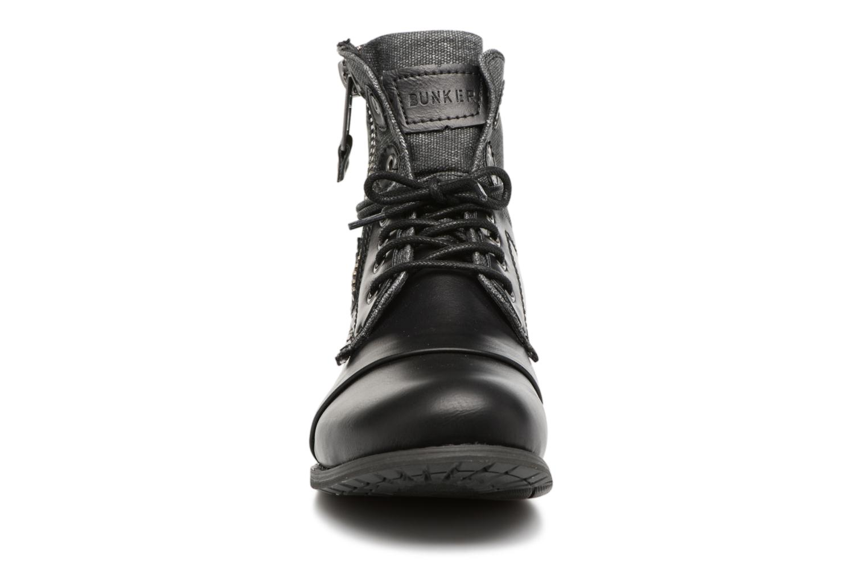 Stiefeletten & Boots Bunker Sara zip schwarz schuhe getragen