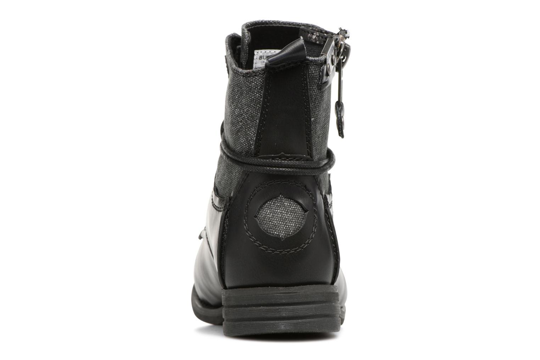 Bottines et boots Bunker Sara zip Noir vue droite