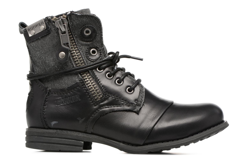 Bottines et boots Bunker Sara zip Noir vue derrière