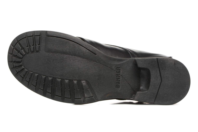 Bottines et boots Bunker Sara zip Noir vue haut