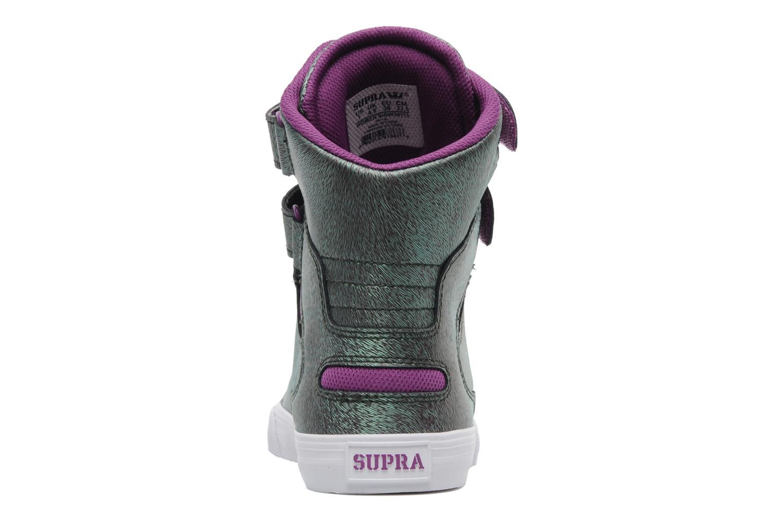 Sneaker Supra Society w lila ansicht von rechts