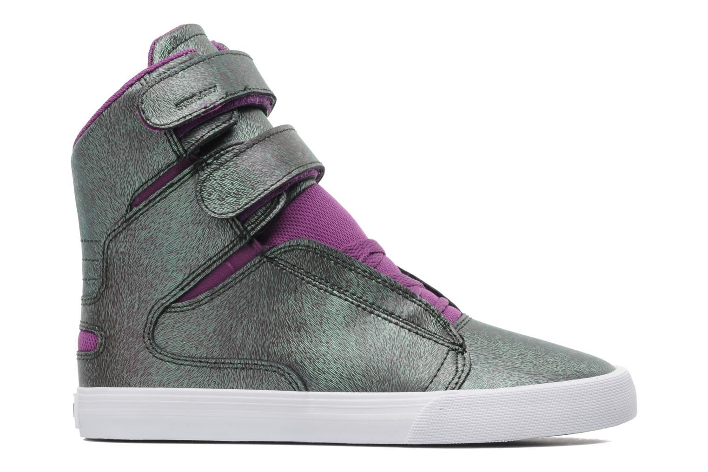 Sneaker Supra Society w lila ansicht von hinten