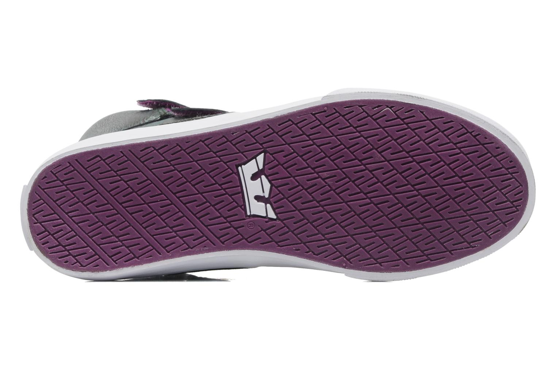 Sneaker Supra Society w lila ansicht von oben