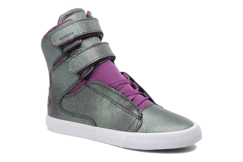 Sneaker Supra Society w lila detaillierte ansicht/modell