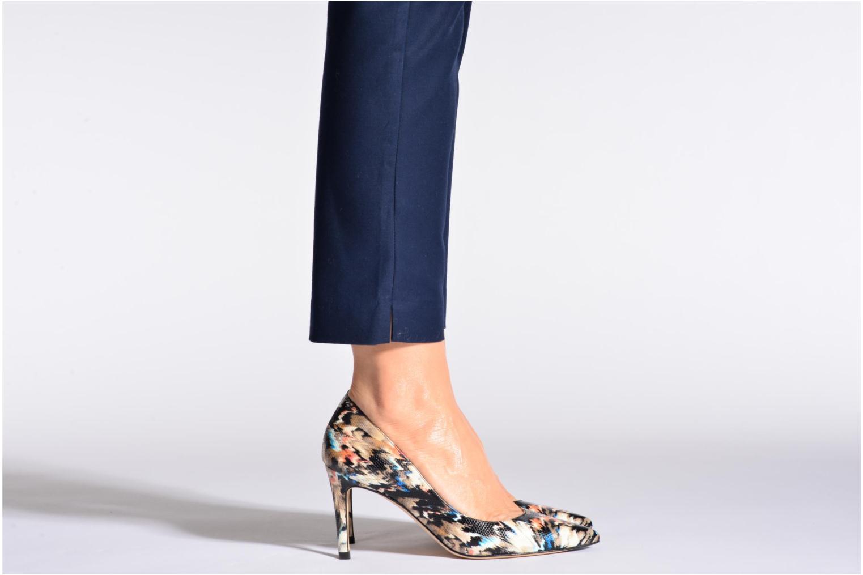 High heels L.K. Bennett Floret Beige view from underneath / model view