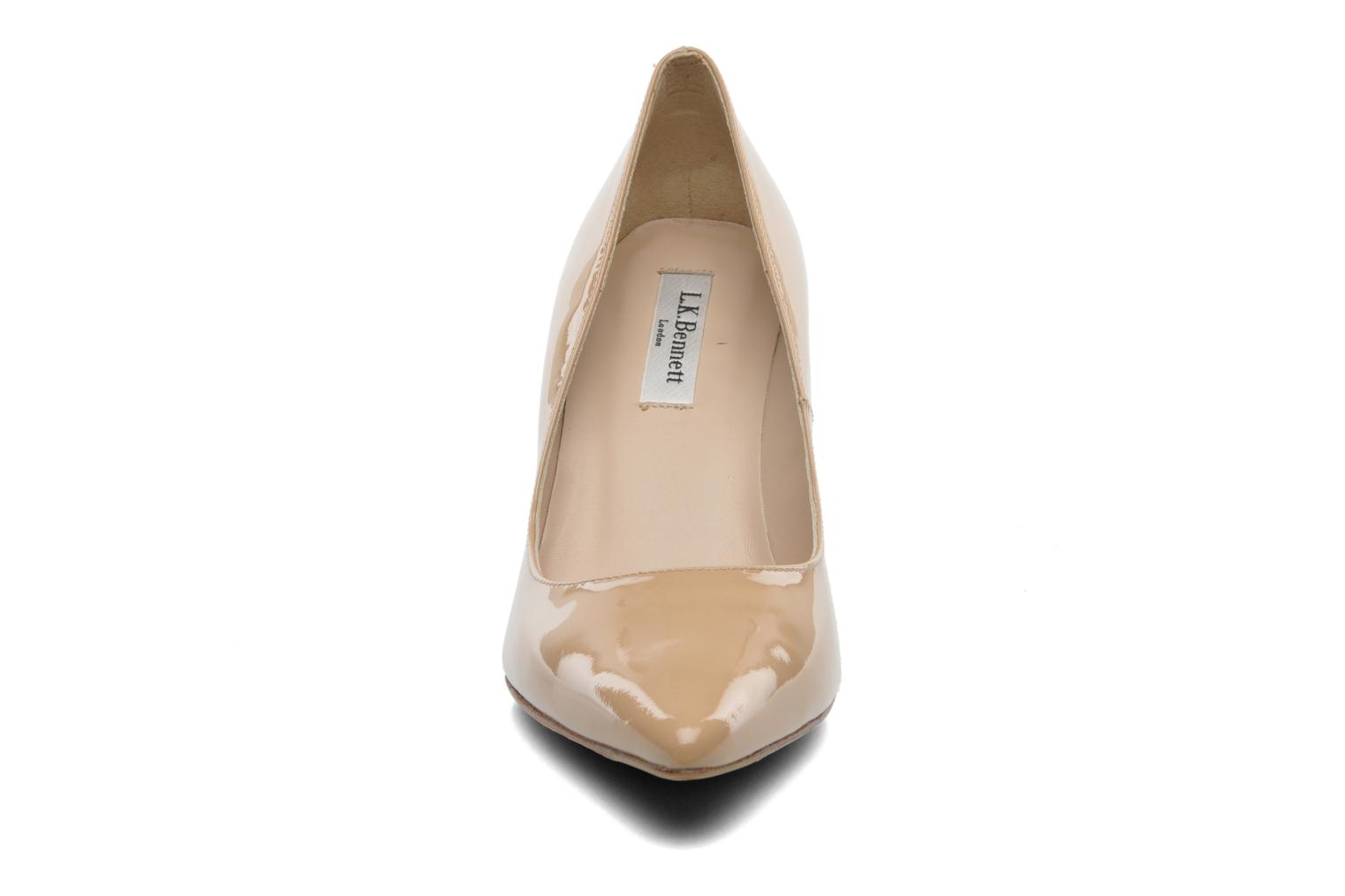 High heels L.K. Bennett Floret Beige model view