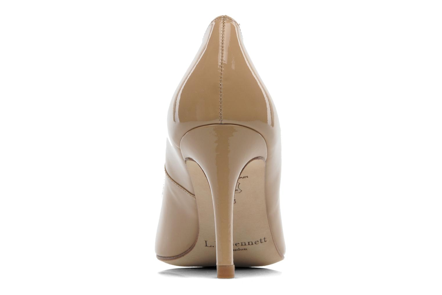 High heels L.K. Bennett Floret Beige view from the right