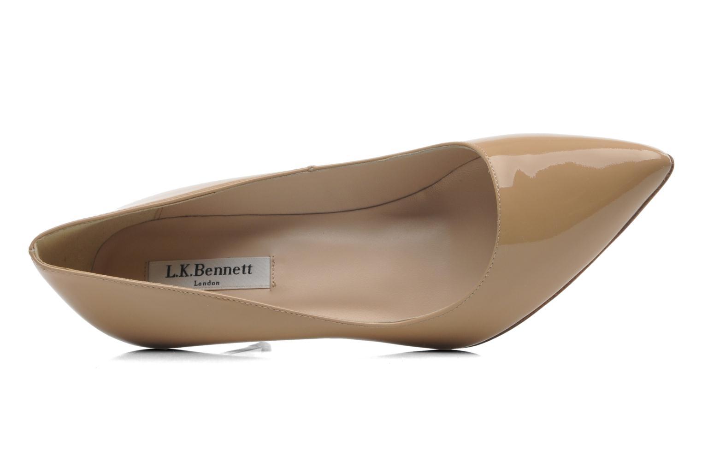 High heels L.K. Bennett Floret Beige view from the left