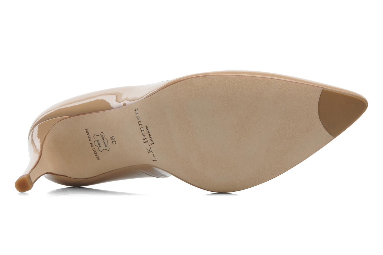 Zapatos de tacón L.K. Bennett Floret Beige vista de arriba