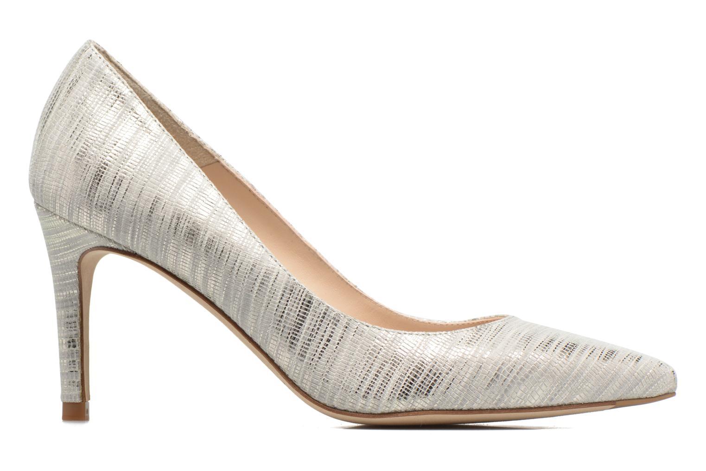 High heels L.K. Bennett Floret Silver back view