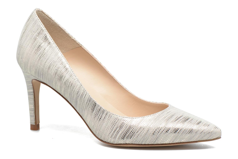 Høje hæle L.K. Bennett Floret Sølv detaljeret billede af skoene