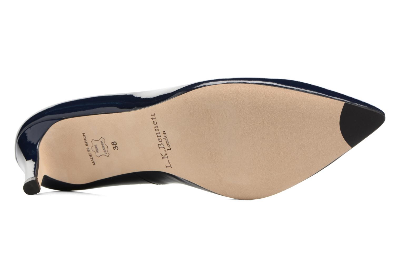 Zapatos de tacón L.K. Bennett Floret Azul vista de arriba