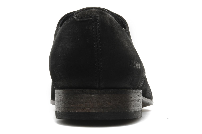 Scarpe con lacci Azzaro Walter Nero immagine destra