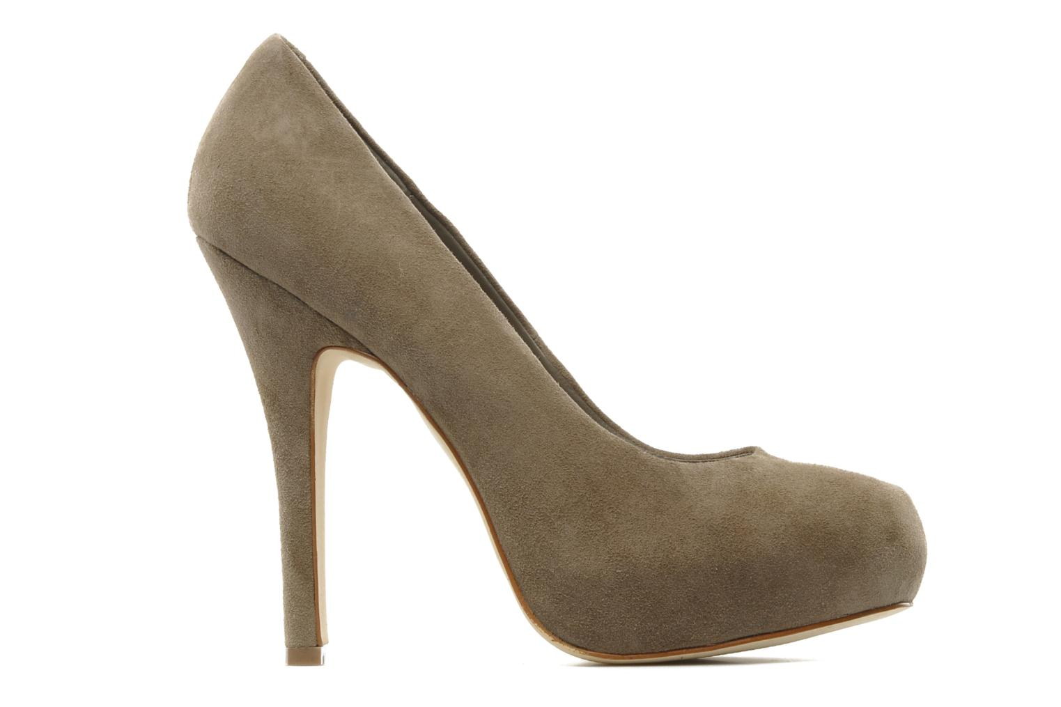 Traisie Taupe Suede