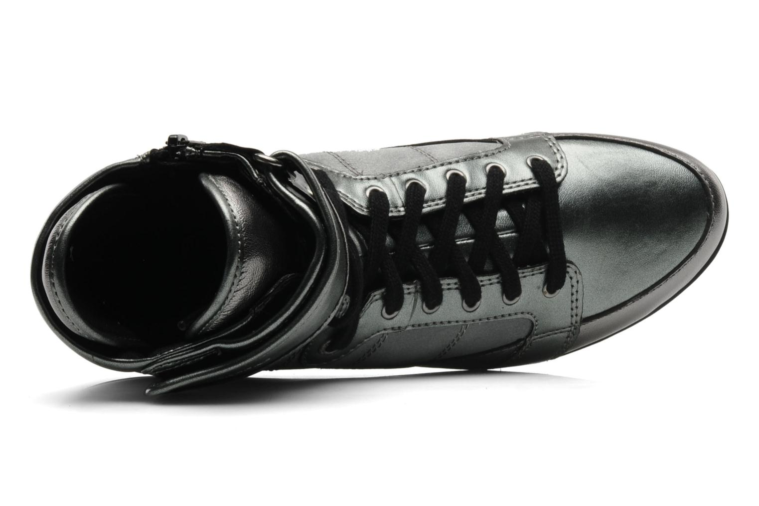 Trainers Vagabond EDIE 3425 602 Silver view from the left