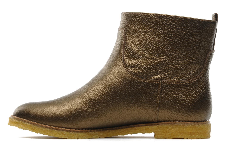 Bottines et boots Flipflop CABALLO MET Or et bronze vue face
