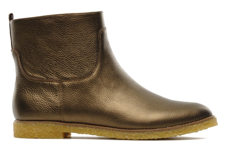 Bottines et boots Flipflop CABALLO MET Or et bronze vue derrière