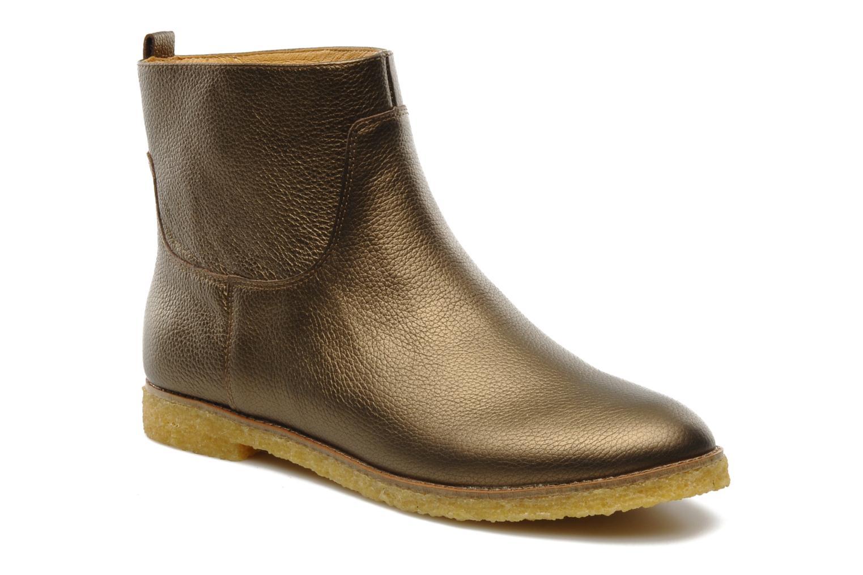 Bottines et boots Flipflop CABALLO MET Or et bronze vue détail/paire