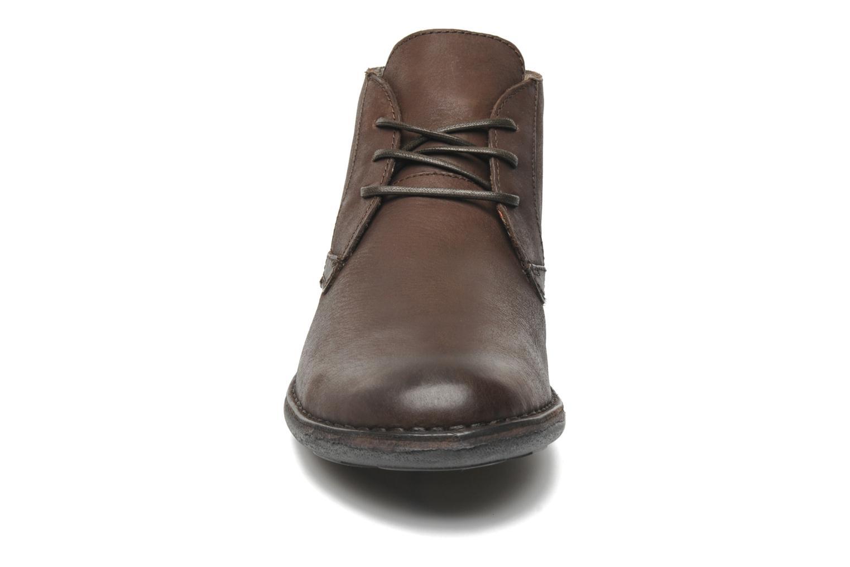 Snøresko Kickers SWIBO Brun se skoene på