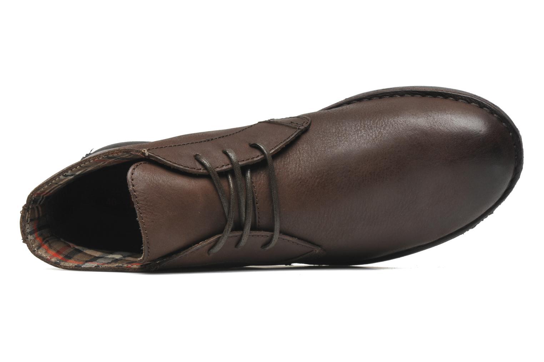 Chaussures à lacets Kickers SWIBO Marron vue gauche