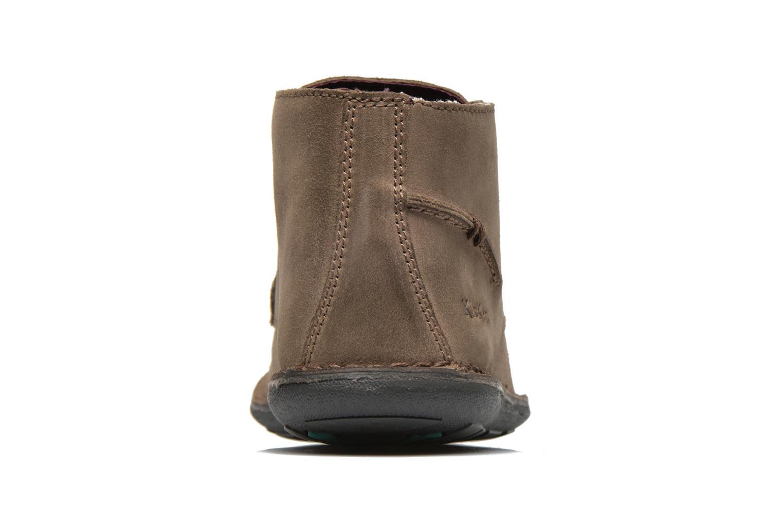 Snörade skor Kickers SWIBO Grå Bild från höger sidan