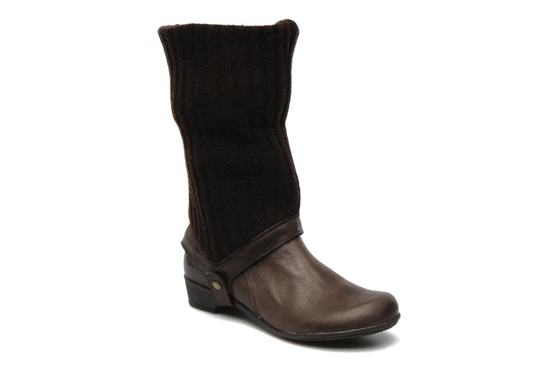 Bottines et boots Kickers CRESHO Marron vue 3/4