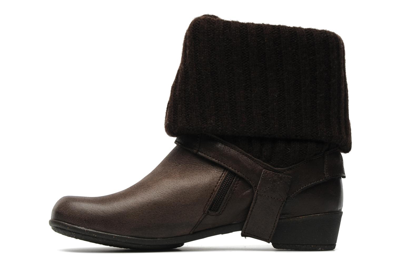 Bottines et boots Kickers CRESHO Marron vue face