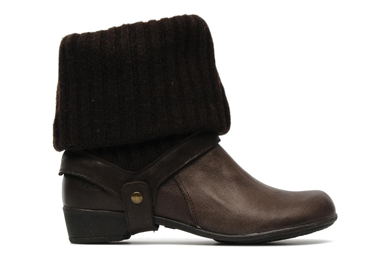 Bottines et boots Kickers CRESHO Marron vue derrière