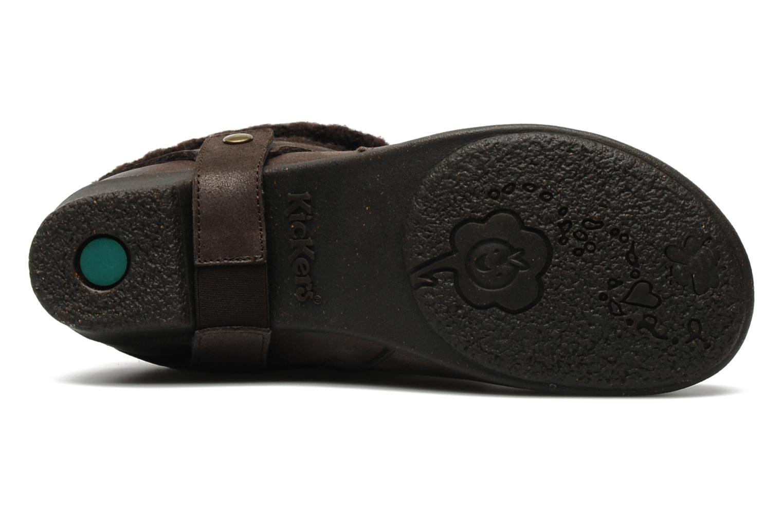 Bottines et boots Kickers CRESHO Marron vue haut