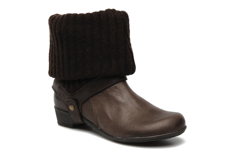 Bottines et boots Kickers CRESHO Marron vue détail/paire