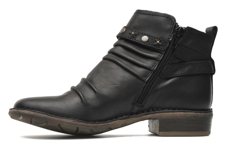 Boots en enkellaarsjes Kickers Great Zwart voorkant
