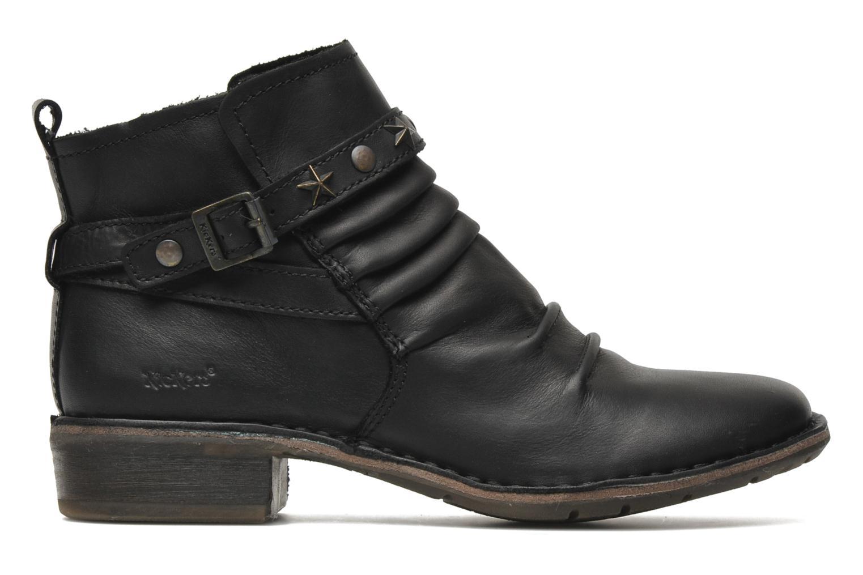 Boots en enkellaarsjes Kickers Great Zwart achterkant