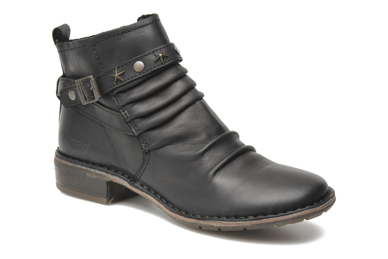 Boots en enkellaarsjes Kickers Great Zwart detail