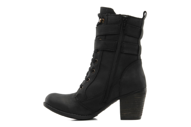 Boots en enkellaarsjes Hush Puppies MOORLAND 8BT Zwart voorkant