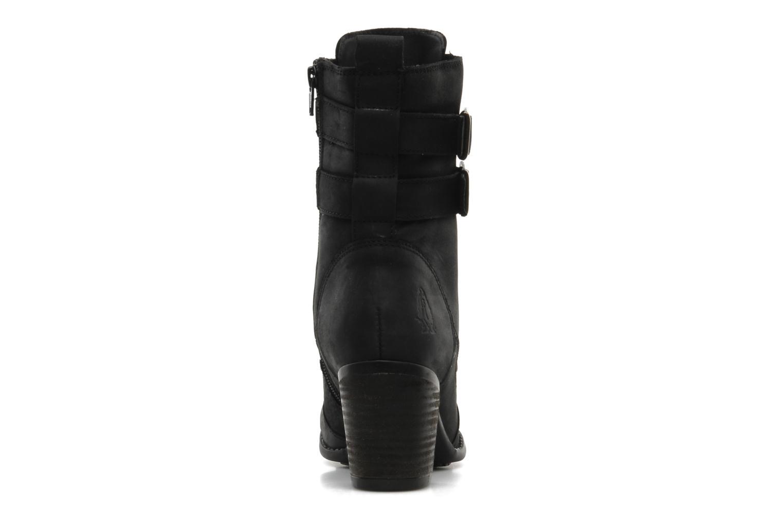Boots en enkellaarsjes Hush Puppies MOORLAND 8BT Zwart rechts