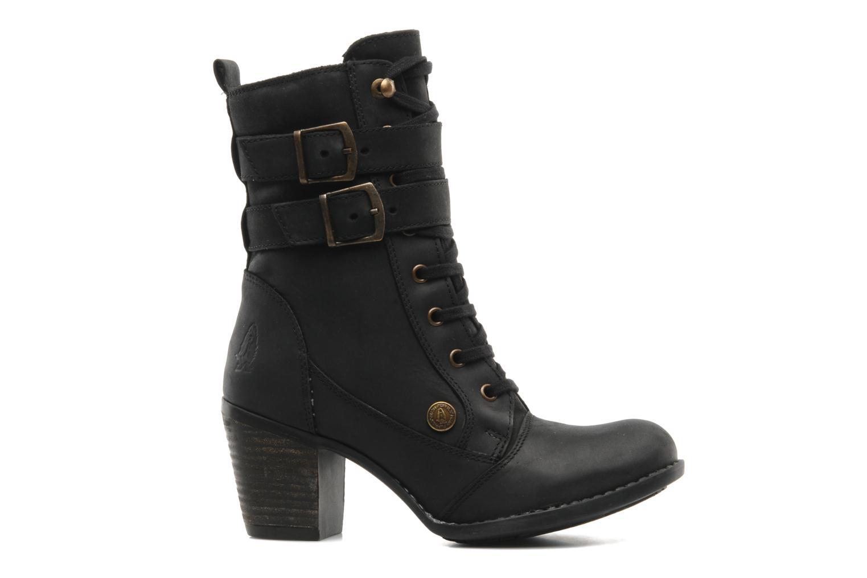 Boots en enkellaarsjes Hush Puppies MOORLAND 8BT Zwart achterkant