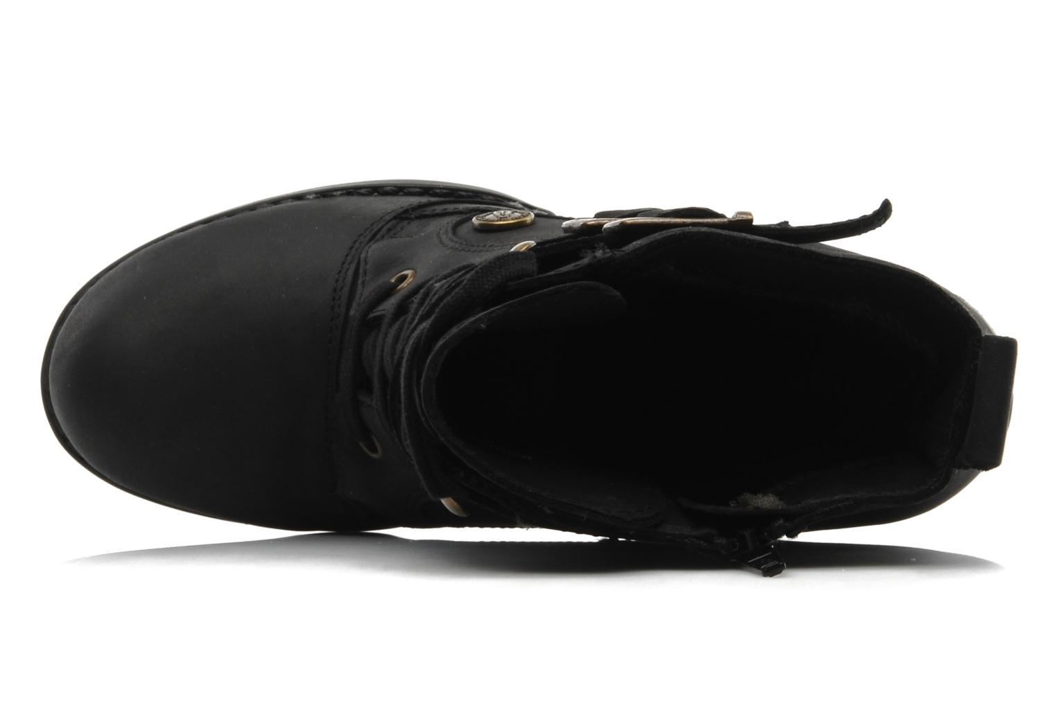 MOORLAND 8BT Black Waxy Leather