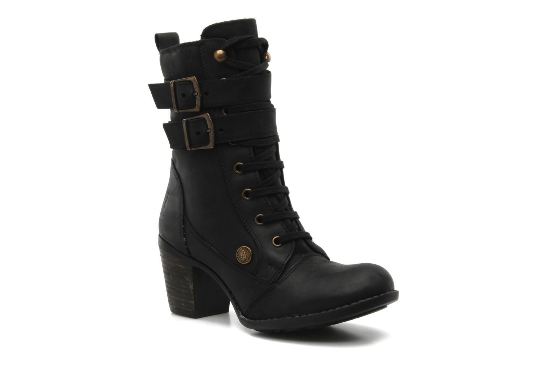 Boots en enkellaarsjes Hush Puppies MOORLAND 8BT Zwart detail