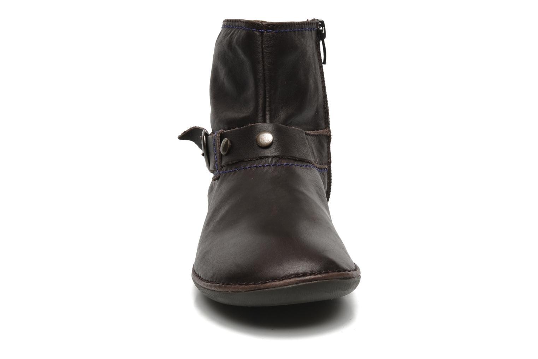 Boots en enkellaarsjes Kickers EXPLODED Bruin model
