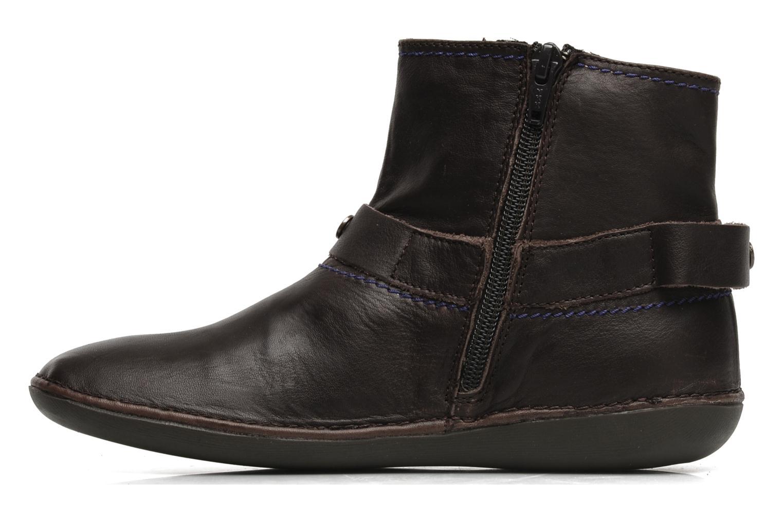 Boots en enkellaarsjes Kickers EXPLODED Bruin voorkant