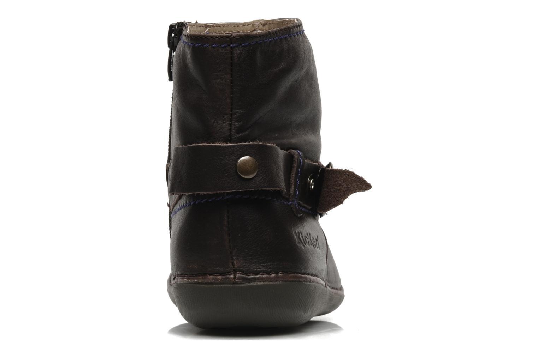 Boots en enkellaarsjes Kickers EXPLODED Bruin rechts