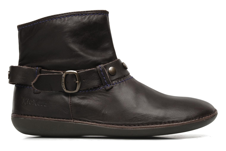 Boots en enkellaarsjes Kickers EXPLODED Bruin achterkant