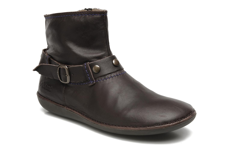 Boots en enkellaarsjes Kickers EXPLODED Bruin detail
